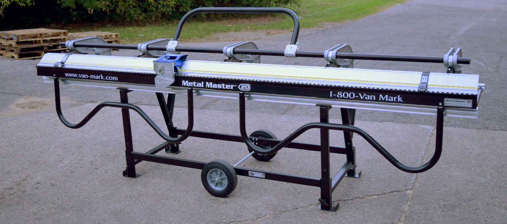 60 Series Van Mark Metal Master 20 Siding Brakes Contractor Model, 106