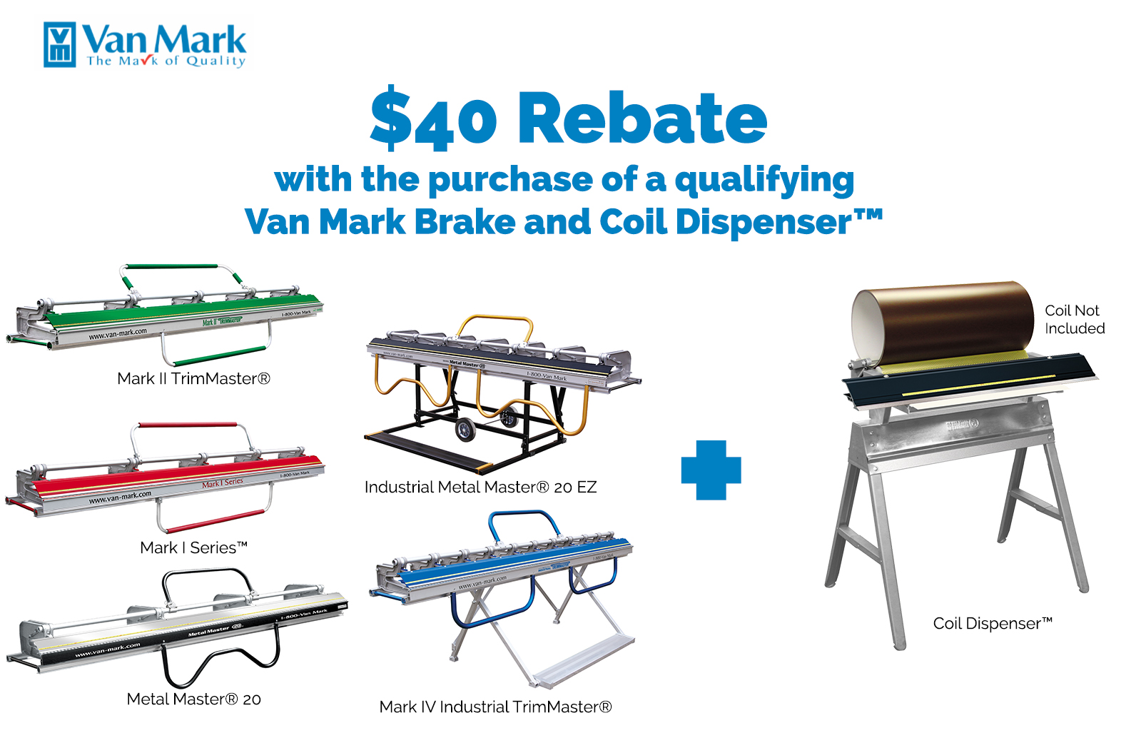 Qualifying Brake with Coil Dispenser $40 October Rebate Offer